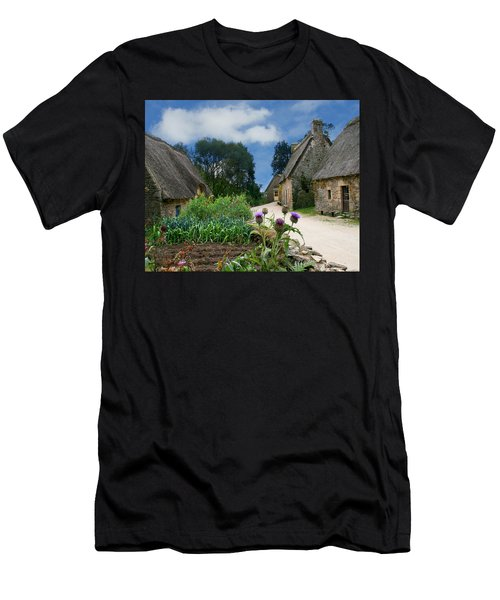 Medieval Village Men's T-Shirt (Athletic Fit)