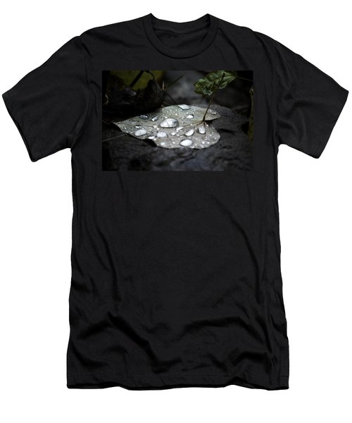 Men's T-Shirt (Slim Fit) featuring the photograph My Heart Weeps by Peggy Franz