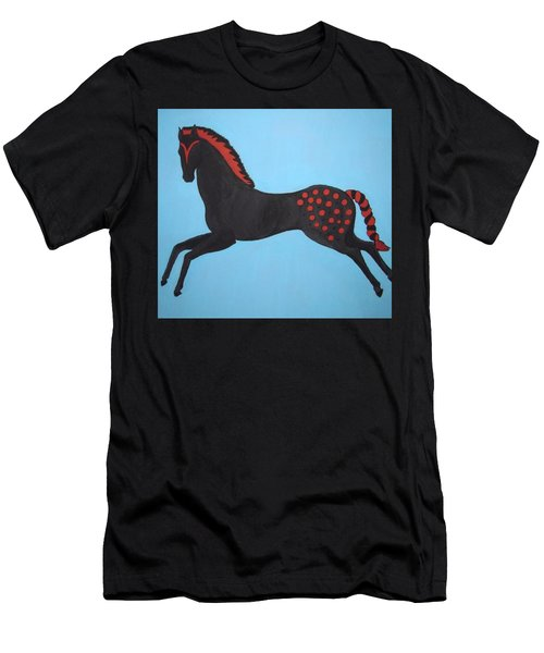 Painted Pony Men's T-Shirt (Slim Fit) by Stephanie Moore