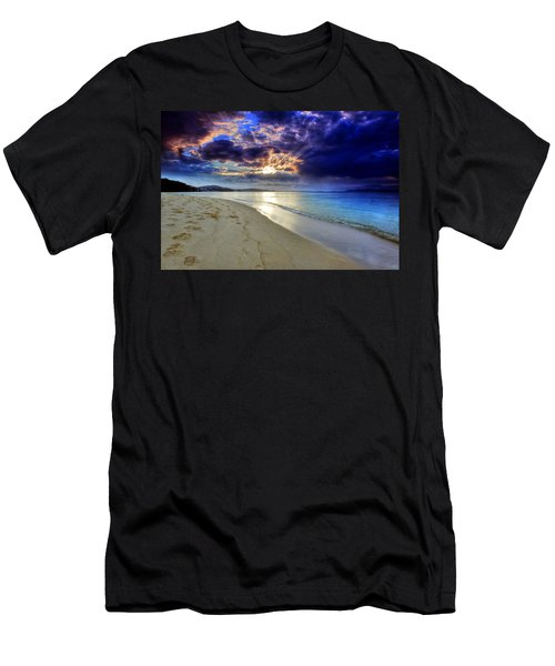 Port Stephens Sunset Men's T-Shirt (Athletic Fit)