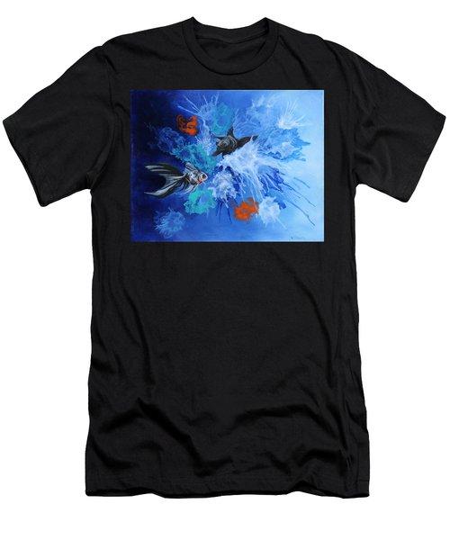 Richies Fish Men's T-Shirt (Athletic Fit)