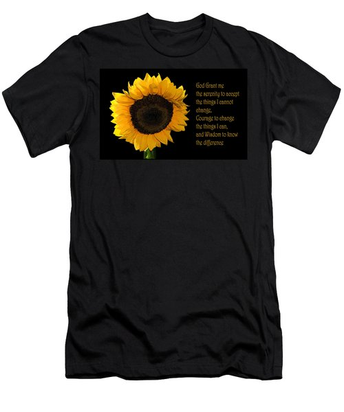 Serenity Prayer Men's T-Shirt (Athletic Fit)