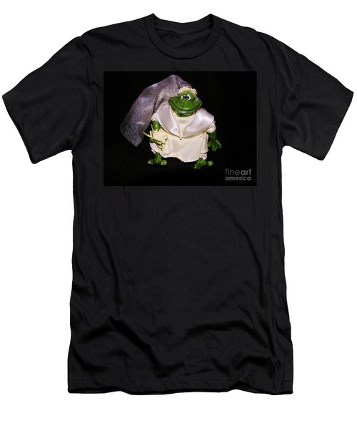 Men's T-Shirt (Slim Fit) featuring the photograph The Green Bride by Sherman Perry