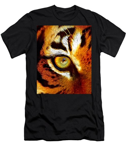 Tigers Eye Men's T-Shirt (Slim Fit) by Marlo Horne
