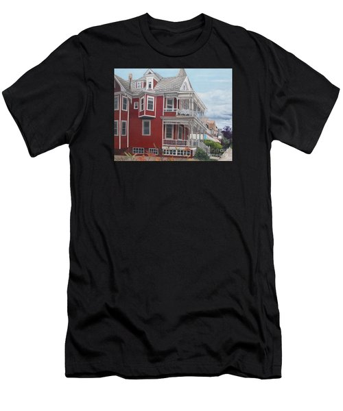 Victorian Afternoon Cape May Men's T-Shirt (Athletic Fit)