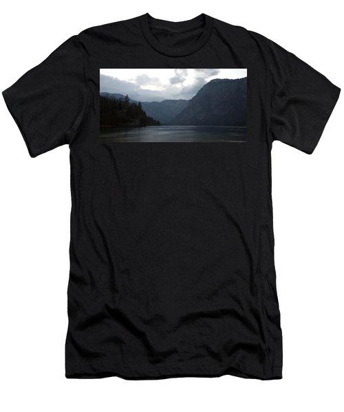 Lake Bohinj At Dusk Men's T-Shirt (Athletic Fit)