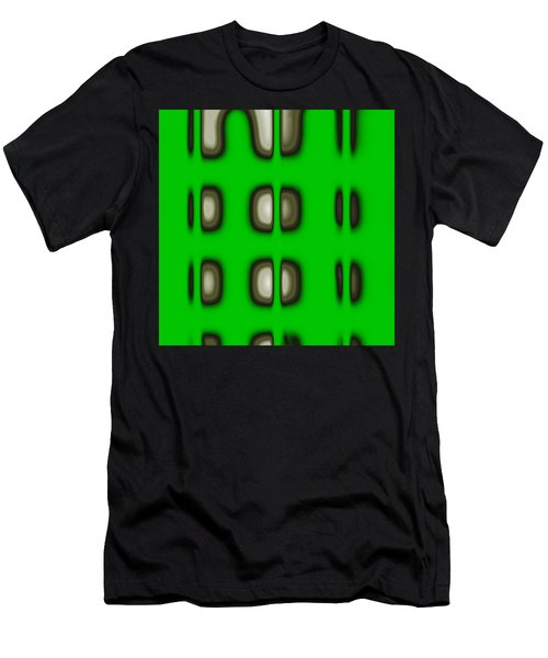 Men's T-Shirt (Athletic Fit) featuring the digital art Follow The Lights by Mihaela Stancu