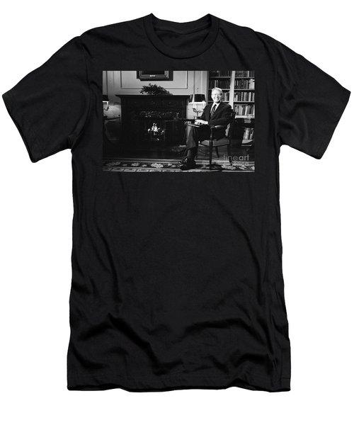 Jimmy Carter (1924- ) Men's T-Shirt (Slim Fit) by Granger