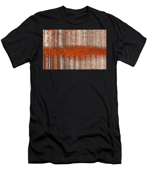 Men's T-Shirt (Athletic Fit) featuring the digital art Color Rust by Mihaela Stancu