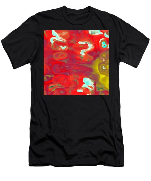 Men's T-Shirt (Athletic Fit) featuring the digital art Cromatic by Mihaela Stancu
