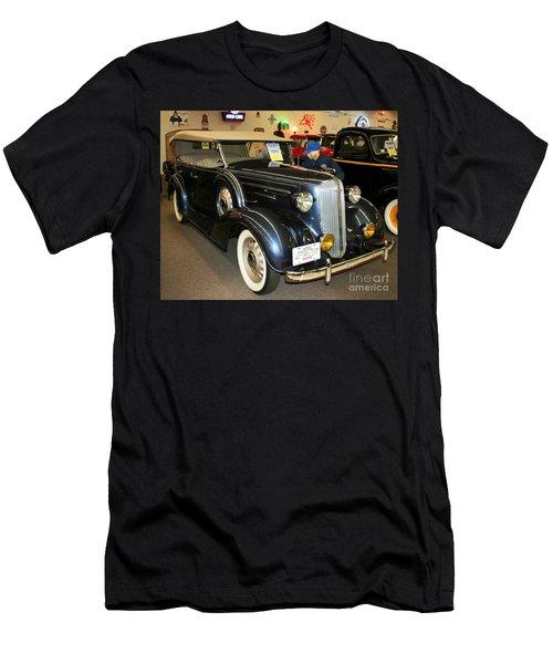 Men's T-Shirt (Slim Fit) featuring the photograph 1936 Chevrolet Phaeton by John Black