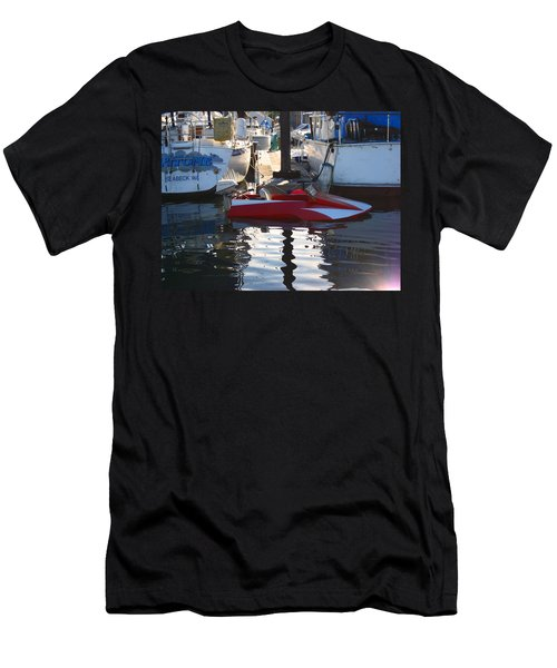 1950's Custom Hydroplane Men's T-Shirt (Slim Fit) by Kym Backland