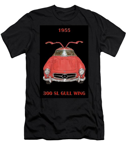 300 S L Gull Wing  Men's T-Shirt (Athletic Fit)