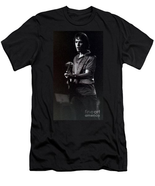 Men's T-Shirt (Slim Fit) featuring the photograph Bob Weir Of The Grateful Dead by Susan Carella