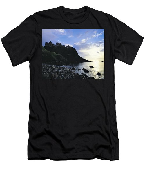 Dunluce Castle, Co Antrim, Ireland Men's T-Shirt (Athletic Fit)