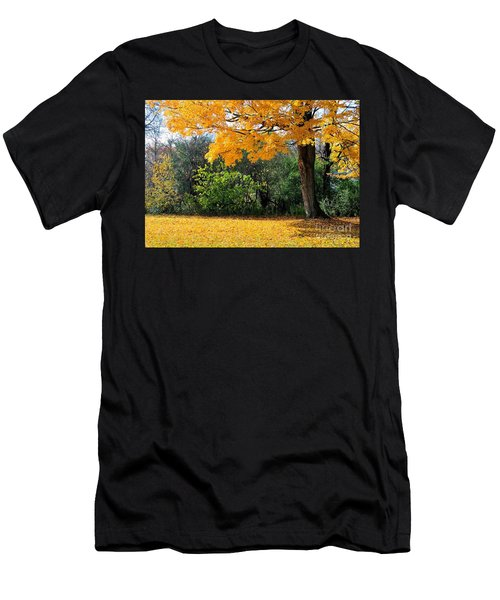 Men's T-Shirt (Slim Fit) featuring the photograph Tree Of Gold by Joe  Ng