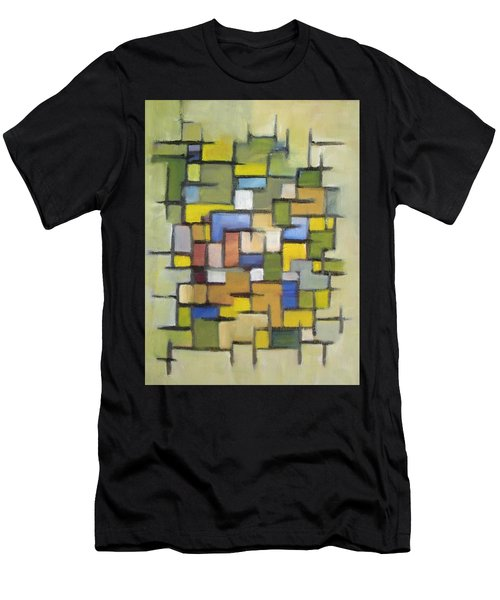 2012 Abstract Line Series Xx Men's T-Shirt (Athletic Fit)