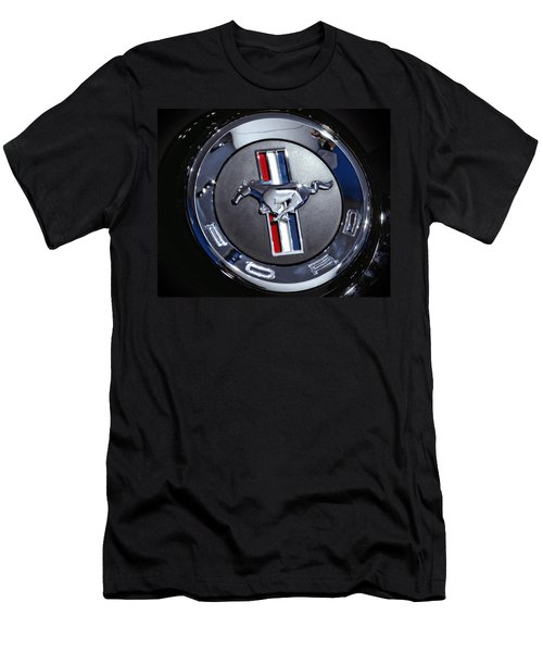 2012 Ford Mustang Trunk Emblem Men's T-Shirt (Athletic Fit)