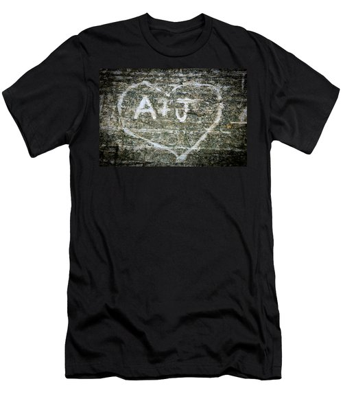 A And J Men's T-Shirt (Slim Fit) by Julia Wilcox