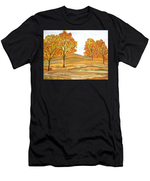 A Bit Of Fall Men's T-Shirt (Athletic Fit)