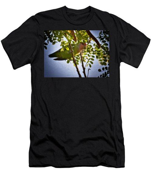 A Little Love  Men's T-Shirt (Slim Fit)