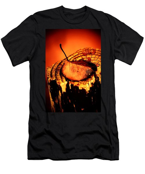 Men's T-Shirt (Slim Fit) featuring the photograph A Pose For Fall by Jessica Shelton