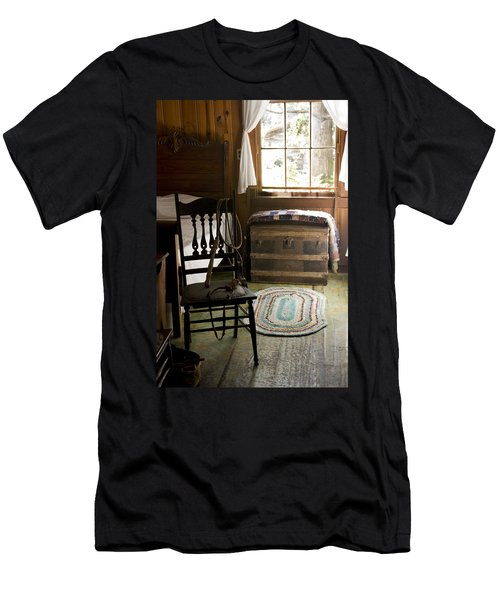 Men's T-Shirt (Slim Fit) featuring the photograph A Simpler Life by Lynn Palmer