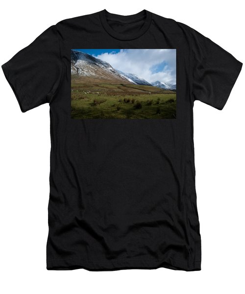 A View In The Mountains Men's T-Shirt (Athletic Fit)