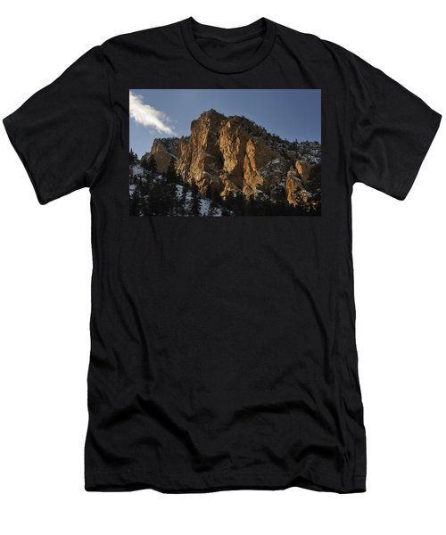 Men's T-Shirt (Athletic Fit) featuring the photograph Above Red River I by Ron Cline