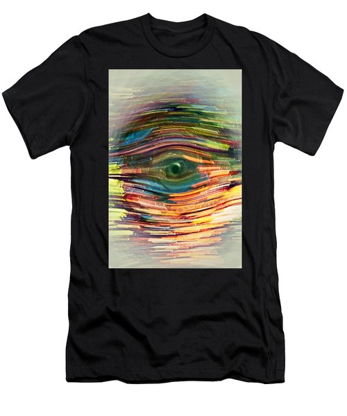 Abstract Eye Men's T-Shirt (Athletic Fit)