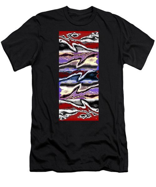 Abstract Fusion 101 Men's T-Shirt (Athletic Fit)