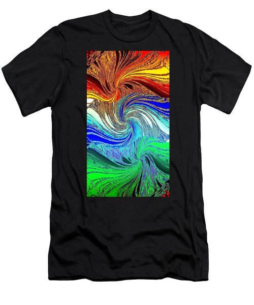 Abstract Fusion 159 Men's T-Shirt (Athletic Fit)