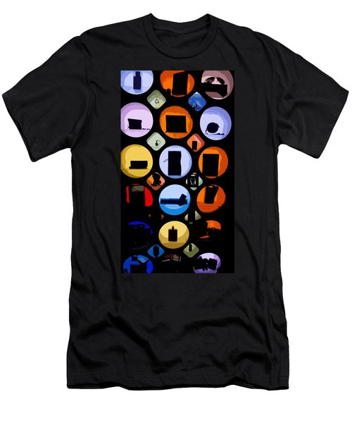 Abstract Stuff Men's T-Shirt (Athletic Fit)