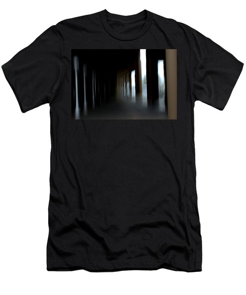 Men's T-Shirt (Slim Fit) featuring the mixed media Abyss by Terence Morrissey