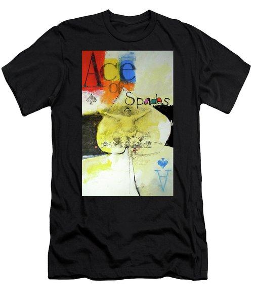 Ace Of Spades 25-52 Men's T-Shirt (Athletic Fit)