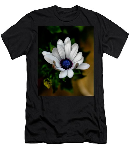 Men's T-Shirt (Slim Fit) featuring the photograph African Daisy by Lynne Jenkins