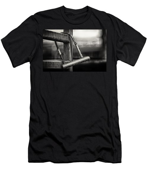 Men's T-Shirt (Slim Fit) featuring the photograph After The Horse Has Bolted by Tom Gort