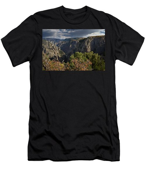Afternoon Clouds Over Black Canyon Of The Gunnison Men's T-Shirt (Athletic Fit)