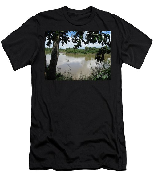 Agusan River Near Ja Pao Men's T-Shirt (Athletic Fit)