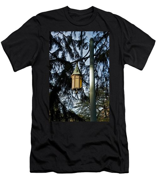 Men's T-Shirt (Slim Fit) featuring the photograph Akers Night by Joseph Yarbrough