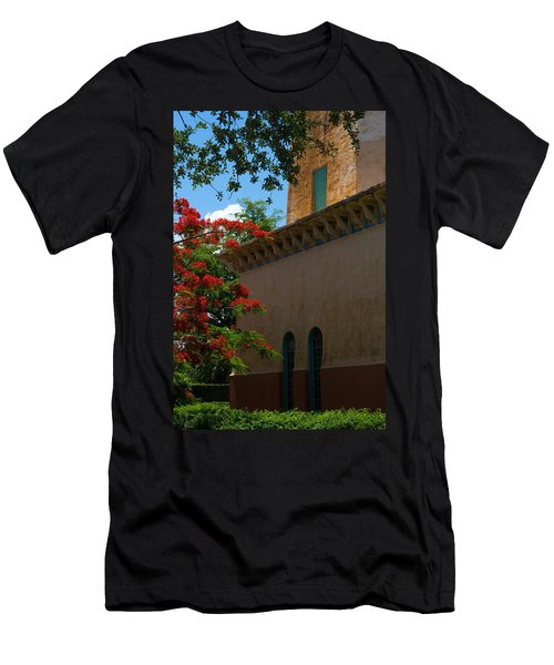 Alhambra Water Tower Windows And Door Men's T-Shirt (Athletic Fit)