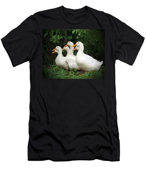 All My Ducks In A Row Men's T-Shirt (Athletic Fit)