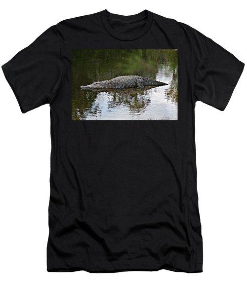 Alligator 1 Men's T-Shirt (Athletic Fit)