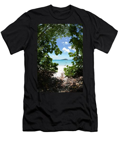 Almost There Men's T-Shirt (Athletic Fit)