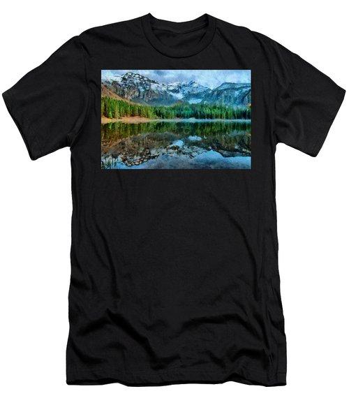 Alta Lakes Reflection Men's T-Shirt (Athletic Fit)