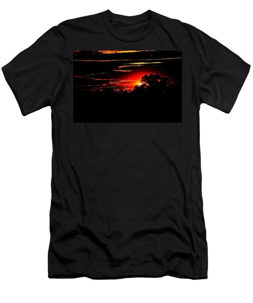 Altered Sunset Men's T-Shirt (Athletic Fit)