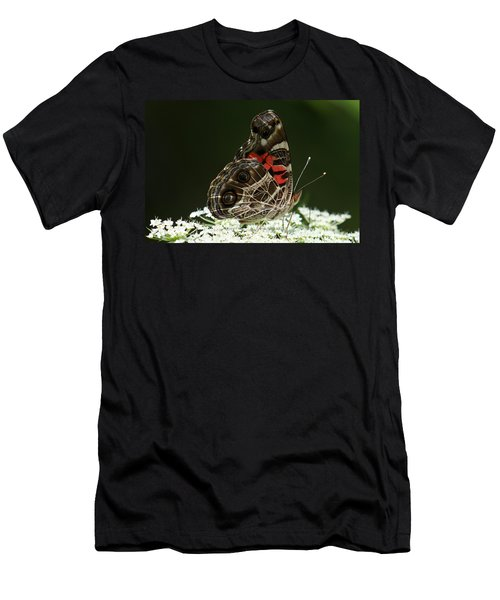 American Painted Lady Butterfly Men's T-Shirt (Athletic Fit)