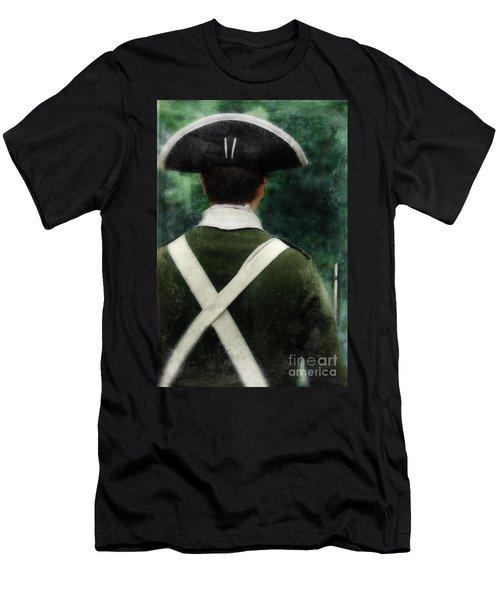 American Revolution Minuteman Men's T-Shirt (Athletic Fit)