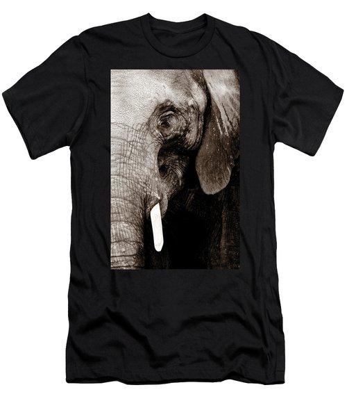 Ancient Face Men's T-Shirt (Slim Fit) by Angela Rath