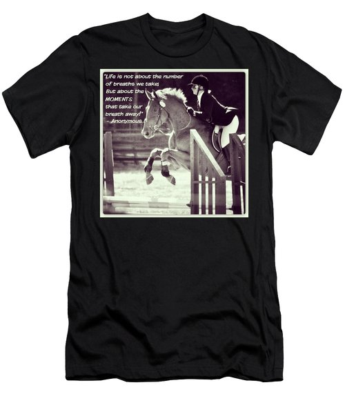 Andy And Chrissy Caber Farm Horse Men's T-Shirt (Athletic Fit)